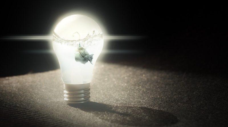 illustrasjon av lyspære